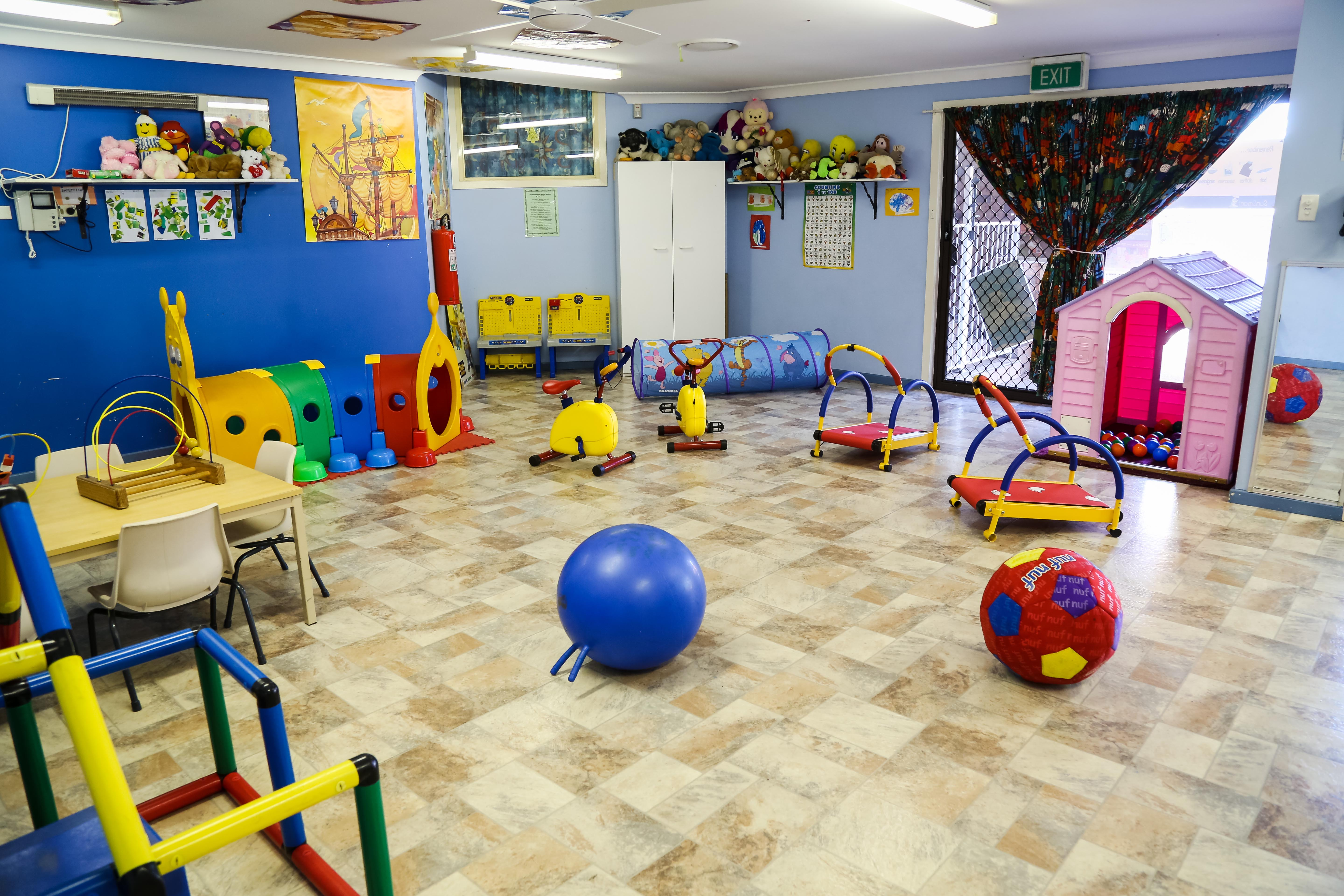 Large Indoor Play Area