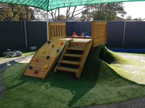 Shaded Outdoor Play Area
